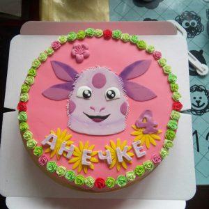 Торт для детского праздника Лунктик