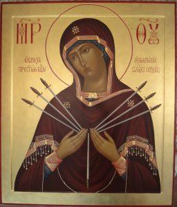 Икона Богородицы Умягчение злых сердец