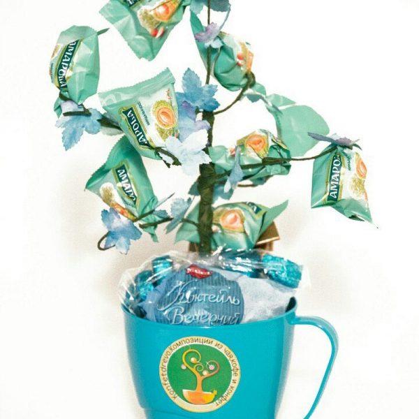 конфетное дерево с чаем