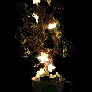 конфетница-светильник
