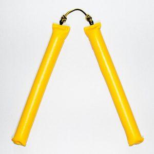 нунчаки желтый рубило